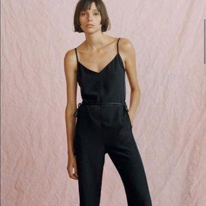Rag & Bone Rosa Silk Jumpsuit Brand New!